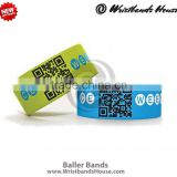 Clear baller band | cute baller bands | clear baller bracelet | soft silicone baller band