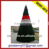 China wholesale innovation decoration tree 24ft (720CM) giant outdoor artificial spiral christmas tree for sale