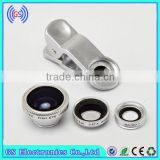 Main Camera Ring Lens Cover For Samsung Galaxy S5 Fish Eye Camera Wide Angle Micro Universal Clip