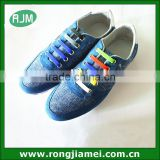 2015 wholesale popular no tie Elastic Lace lock shoelace