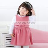 Comfortable Baby Girls' Pleated Knitted Peplum Tulle Girl Party Vest Tank Dress Clothes Manufacturer OEM ODM Factory Guangzhou