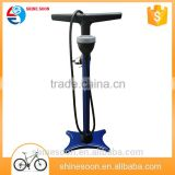 New product road and Moutain Bicycle floor type bike pump/ mini bike pump with high quality