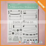 17-0147 Craft waterproof sticker paper color a4 size blank sticker paper roll