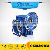 low rpm worm speed reducer printing drive gearbox