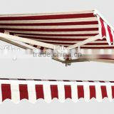 Oxford sail material and PU coated sail finishing folding canopy tent