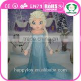 HI wholesale frozen mascot costumes for adult, cartoon character princess dress cotume