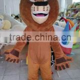 Professional Madagascar movies lion mascot costumes for sale