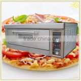 Pizza Oven with Ceramic Stone Baker's magic assitant 1 deck 2 trays Electric Bakery Oven