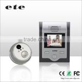 "ETE 2"" TFT LCD automatic tamper alarm batteried doorbell apartment door bell peephole"