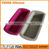 Made in China Rectangle Silicone Baking loaf cake pan