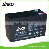 Sealed Maintenance Free Lead-acid Battery with 5 Years Life Design And One Year Quality Warranty