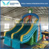 Backyard water slide kids blow up inflatable water slide for pool,folk inflatable slide