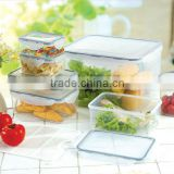 14pcs airtight waterproof food container set GL5014C