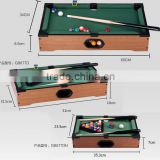 Mini Billiard Ball Snooker Tabletop Pool Table Top Desktop Game Set Toy Gift