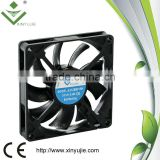 xinyujie 80*80*15mm 12/24v ventilators/ dc fan mini window air conditioner waterproof fan