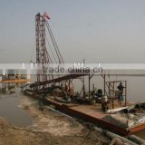 shandong sand cutter suction dredger for sale