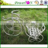 Sale Elegant Vintage Antique Wrought Iron Bicycle Pot Planter For Garden Park Home Patio I23M TS05 X00 PL08-4915