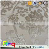 Chinese palace flower design-pure white color high quality for star hotel curtain, bed, table cloth using