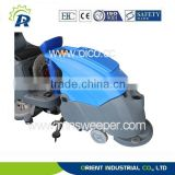 brush plate motor 600w vacuum soak scrubbing machine washing cars hand propelled washing sucking dry machine