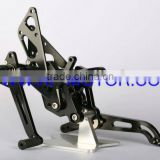 CNC Aluminum Motorcycle rear set FIT for R6 / Adjustable Motocycle Rearset Rear Set footrest