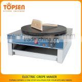 Table top commercial crepe pancake maker for snack shop