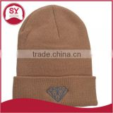 wholesale custom embroidered beanie with custom label design your own beanie boo factory