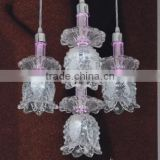 Crystal Glass LED Hanging light E27