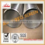 HOT SALE!!water filter mesh screen/wedge wire screen/ v wire water well screen/Johnson screen tube