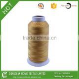 Filament Yarn Type and Dyed Pattern 100% polyester bonded thread UV bonded thread for shoes for tent