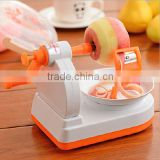 New design Multi-function Fruit Vegetable Tool Apple Peeler Machine Slinky Fruit Cutter Slicer Kitchen