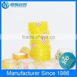 paper or plastic core tape, colored stationery tape, yellowish and clear BOPP stationery tape