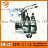 Positive Pressure Trolley Long Tube Breathing Apparatus Cart for Chemical industry - Ayonsafety