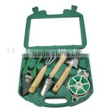 Garden tool set garden hand tool set Includes Trowel, Transplanter, Weeder, and Cultivator