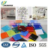 Light Weight Extremely High Eesign Flexibility High Quality Decorative Wall Panel Cast Acrylic Sheet