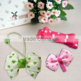 Wholesale colorful hairpins with ribbons