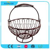 Metal Wire Fruit Basket with Handle DSCN1414