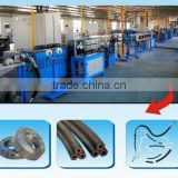 braiding hose extrusion production line// rubber tube machine//brake tube machine