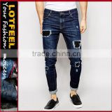 jeans manufacturer philippines Distressed denim man jeans used branded jeans men jeans wholesale (LOTA080)