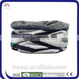 Male Winter Warm Neck Warmer Striped Scarf