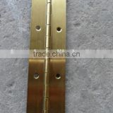 gold plated piano hinge with factory low price