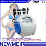 TSL-1105G new design 4in1 multifunctional radio frequency fat cavitation lipomax rf machine