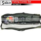 Full Fishing rod reel tools combo set cheap fishing gears