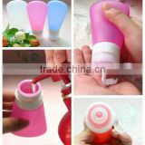 Wholesale Cosmetic Tube Silicone/ Glass Bottles Empty Makeup Containers