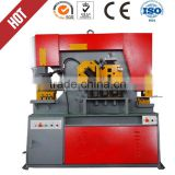 Hydraulic steel round cutting machine, Q35Y-35 stainless steel bar ironworker, angel steel rod cutting and bending lathe