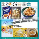 Made in China Roasted corn flakes processing line,oats corn flakes machine