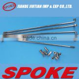 Motorcycle/Bicycle spare part spoke and nipple for sale