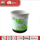 Various colors indoor/outdoor garden table decorative plastic planter flower pot for glass or flower