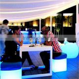 Remote control full color changeable led cube set for indoor decoration