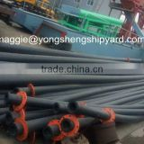 cutter suction dredging HDPE pipe