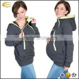 Ecoach fashion 4 in 1 Maternity Pregnancy Sweatshirt Multifunctional Nursing Breastfeeding hoodie jumper for moms and baby